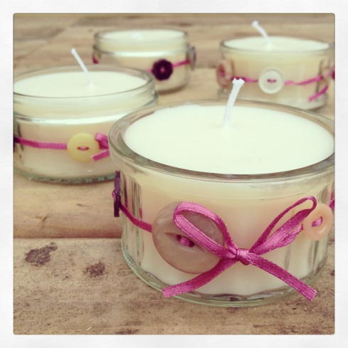 button candles